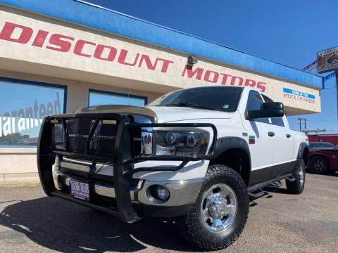 2009 Dodge Ram Pickup 2500 for sale at Discount Motors in Pueblo CO
