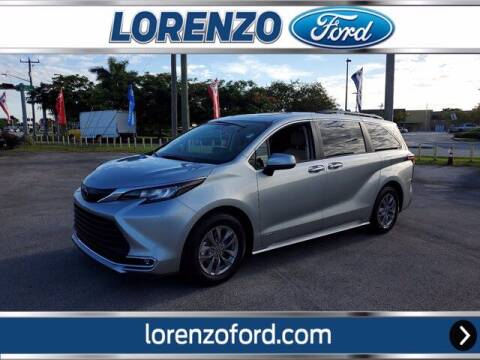 2021 Toyota Sienna for sale at Lorenzo Ford in Homestead FL