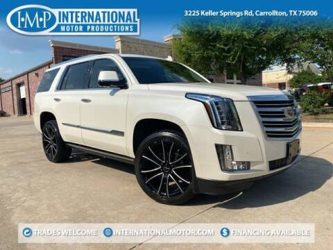2015 Cadillac Escalade for sale at International Motor Productions in Carrollton TX