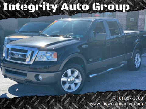 2008 Ford F-150 for sale at Integrity Auto Group in Westminister MD