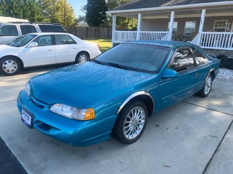 1994 Ford Thunderbird for sale at Getsinger's Used Cars in Anderson SC