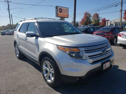 2015 Ford Explorer for sale at Cars 4 Grab in Winchester VA