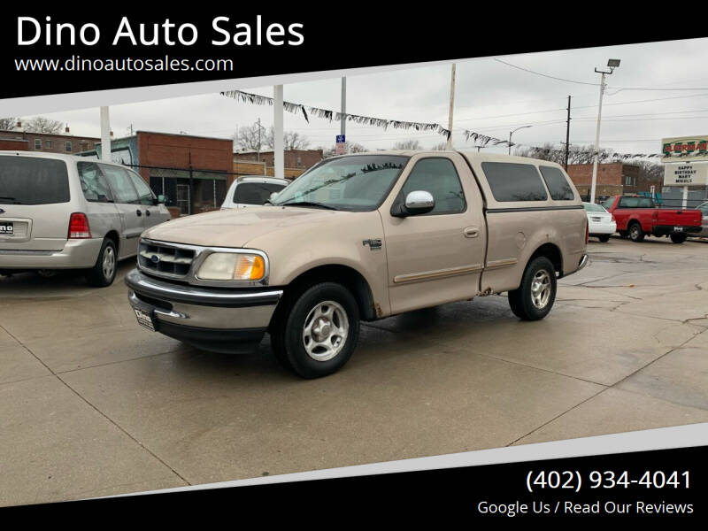 1998 Ford F-150 for sale at Dino Auto Sales in Omaha NE