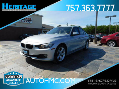2013 BMW 3 Series for sale at Heritage Motor Company in Virginia Beach VA
