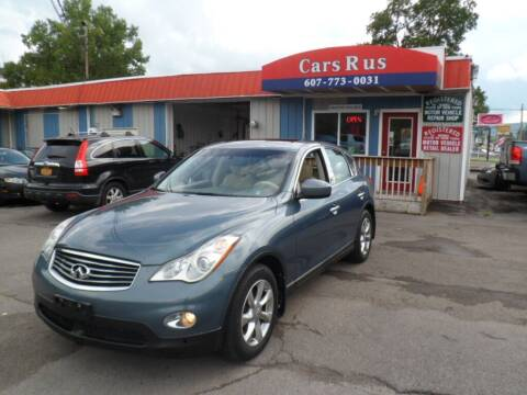 2008 Infiniti EX35 for sale at Cars R Us in Binghamton NY