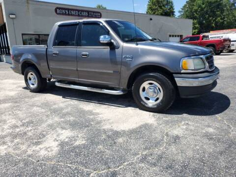 2002 Ford F-150 for sale at Ron's Used Cars in Sumter SC
