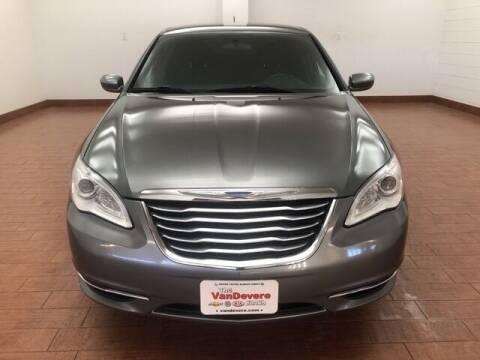 2013 Chrysler 200 for sale at Cj king of car loans/JJ's Best Auto Sales in Troy MI