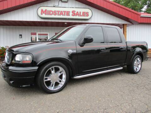 2002 Ford F-150 for sale at Midstate Sales in Foley MN