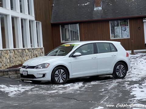 2016 Volkswagen e-Golf for sale at Cupples Car Company in Belmont NH