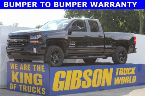 2018 Chevrolet Silverado 1500 for sale at Gibson Truck World in Sanford FL