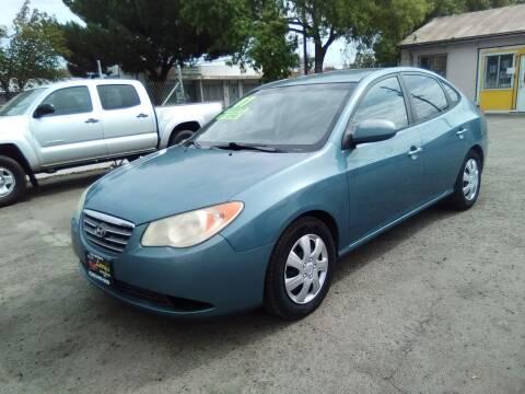 2007 Hyundai Elantra for sale at Larry's Auto Sales Inc. in Fresno CA