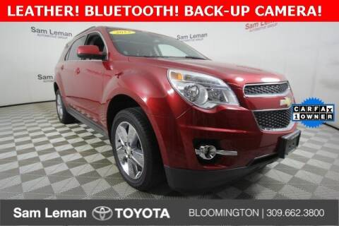 2013 Chevrolet Equinox for sale at Sam Leman Toyota Bloomington in Bloomington IL