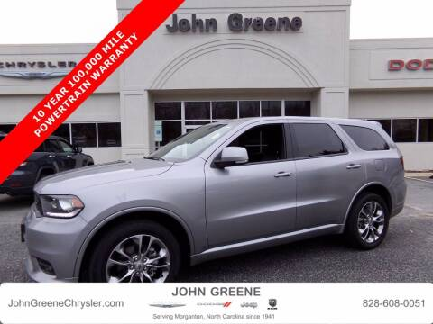 2019 Dodge Durango for sale at John Greene Chrysler Dodge Jeep Ram in Morganton NC