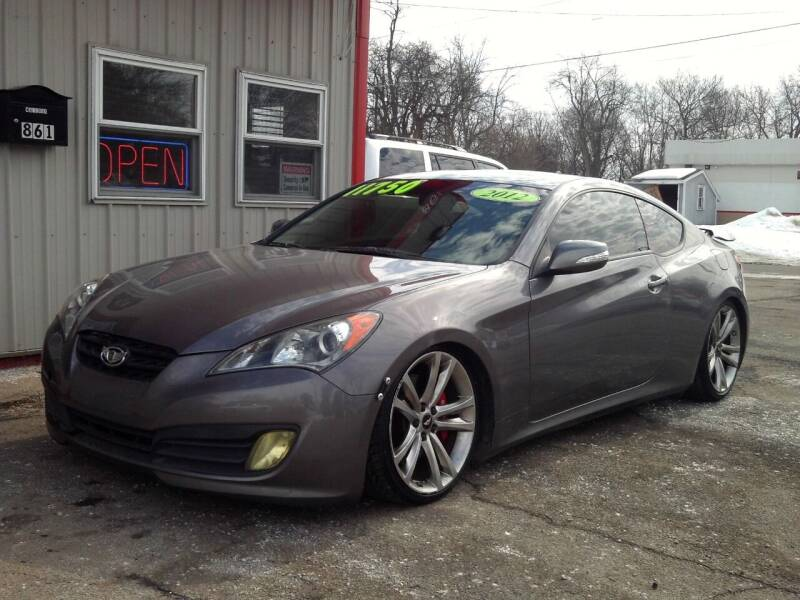 2012 Hyundai Genesis Coupe for sale at Midwest Auto & Truck 2 LLC in Mansfield OH