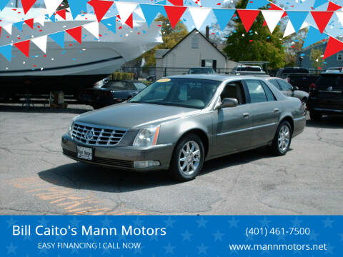 2010 Cadillac DTS for sale at Bill Caito's Mann Motors in Warwick RI