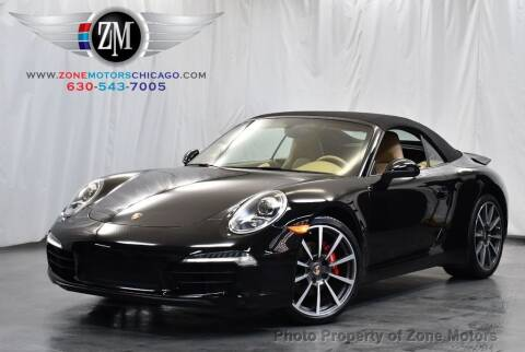 2013 Porsche 911 for sale at ZONE MOTORS in Addison IL