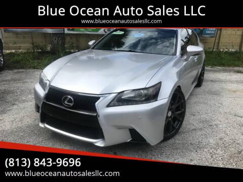 2013 Lexus GS 350 for sale at Blue Ocean Auto Sales LLC in Tampa FL
