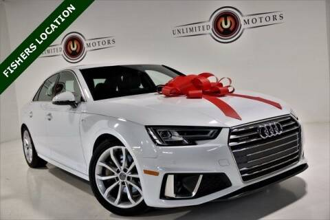 2019 Audi A4 for sale at Unlimited Motors in Fishers IN