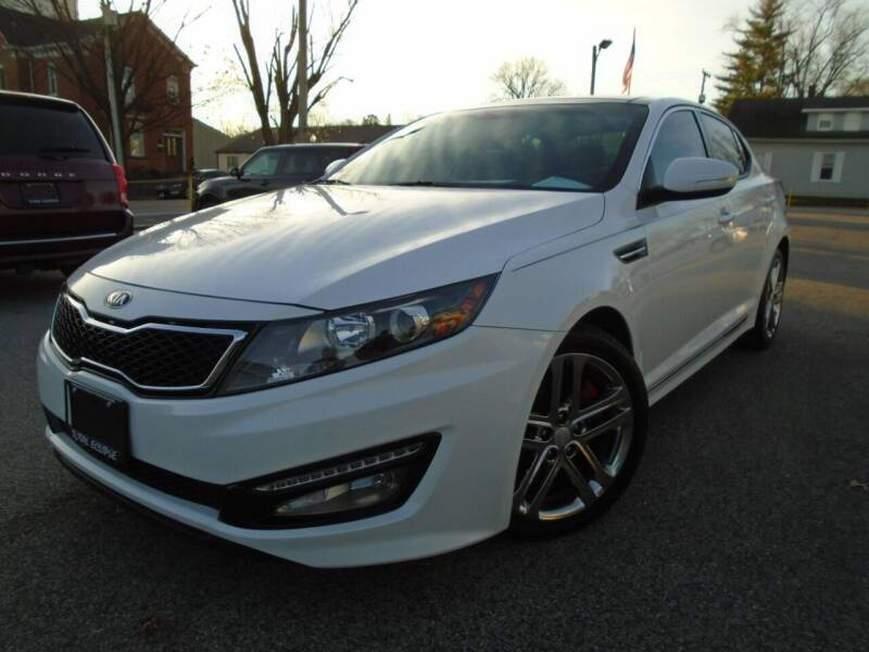 2013 Kia Optima for sale at Total Eclipse Auto Sales & Service in Red Bud IL