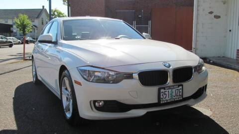 2015 BMW 3 Series for sale at D & M Auto Sales in Corvallis OR