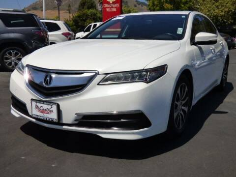 2016 Acura TLX for sale at McCarthy Wholesale in San Luis Obispo CA