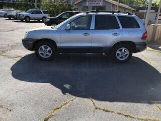 2003 Hyundai Santa Fe for sale at Howard Johnson's  Auto Mart, Inc. in Hot Springs AR