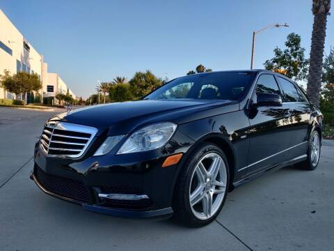 2012 Mercedes-Benz E-Class for sale at FANASY AUTO SALES/EXPORT in Yorba Linda CA