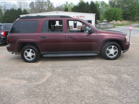 2006 Chevrolet TrailBlazer EXT for sale at Hickory Wholesale Cars Inc in Newton NC