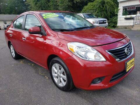 2013 Nissan Versa for sale at A-1 Auto in Pepperell MA