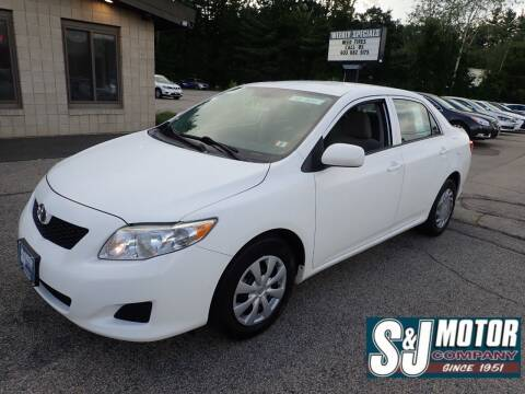 2010 Toyota Corolla for sale at S & J Motor Co Inc. in Merrimack NH