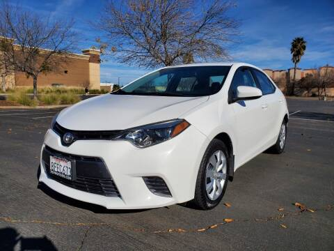 2016 Toyota Corolla for sale at 707 Motors in Fairfield CA
