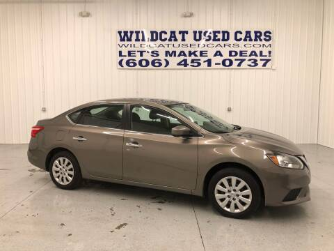 2016 Nissan Sentra for sale at Wildcat Used Cars in Somerset KY