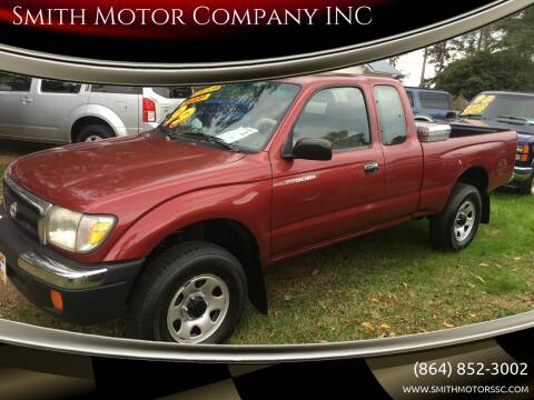 1999 Toyota Tacoma for sale at Smith Motor Company INC in Mc Cormick SC