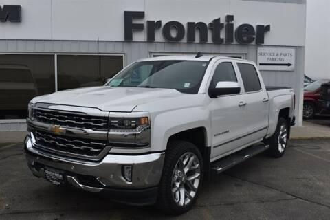 2018 Chevrolet Silverado 1500 for sale at Frontier Motors Automotive, Inc. in Winner SD