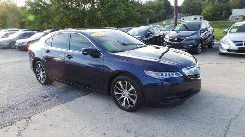 2016 Acura TLX for sale at Unlimited Auto Sales in Upper Marlboro MD