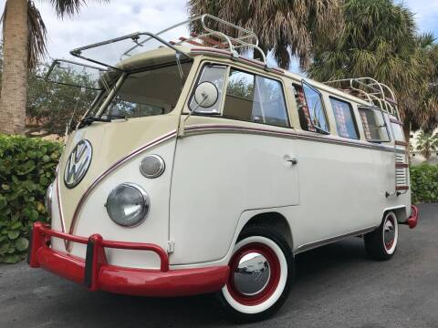 1969 Volkswagen Vanagon for sale at DS Motors in Boca Raton FL