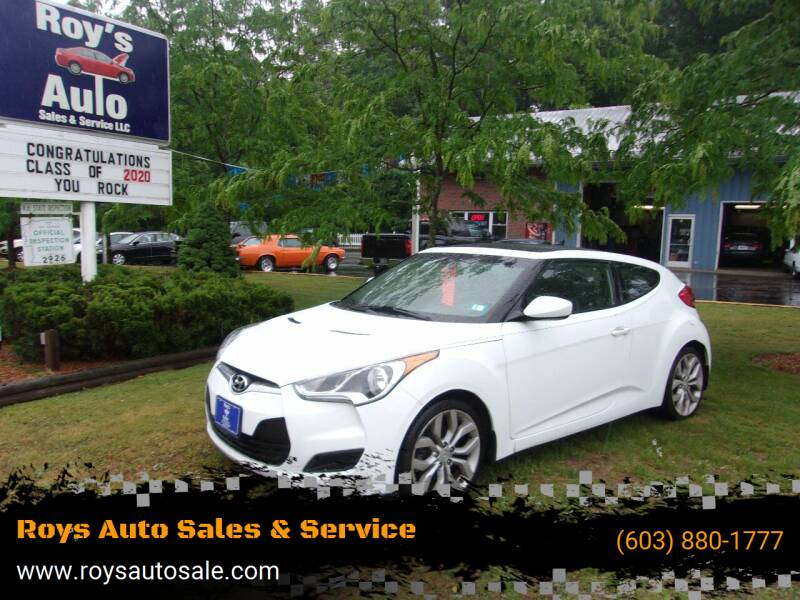 2013 Hyundai Veloster for sale at Roys Auto Sales & Service in Hudson NH
