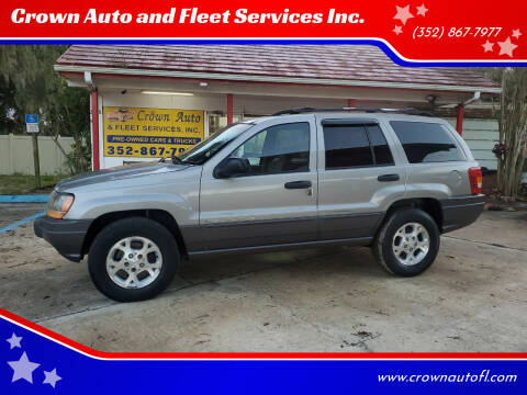 2001 Jeep Grand Cherokee for sale at Crown Auto and Fleet Services Inc. in Ocala FL