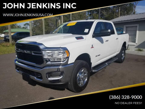 2019 RAM Ram Pickup 2500 for sale at JOHN JENKINS INC in Palatka FL