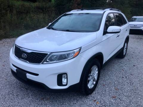 2015 Kia Sorento for sale at R.A. Auto Sales in East Liverpool OH