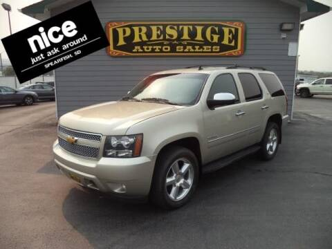 2013 Chevrolet Tahoe for sale at PRESTIGE AUTO SALES in Spearfish SD