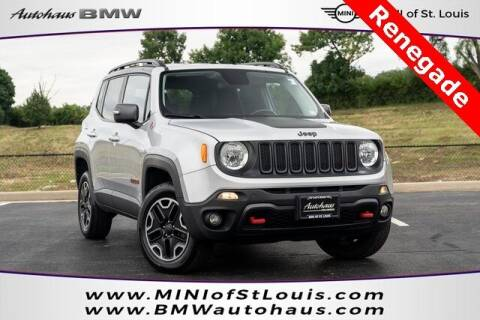 2016 Jeep Renegade for sale at Autohaus Group of St. Louis MO - 3015 South Hanley Road Lot in Saint Louis MO