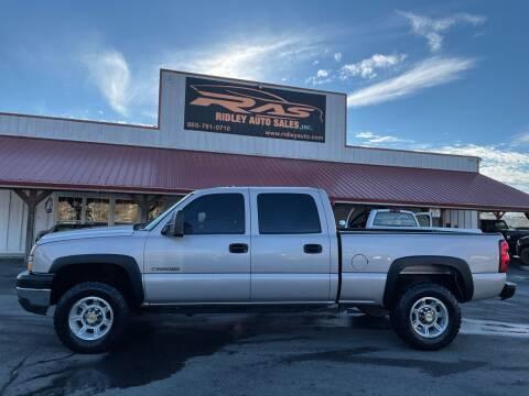 2007 Chevrolet Silverado 2500HD Classic for sale at Ridley Auto Sales, Inc. in White Pine TN