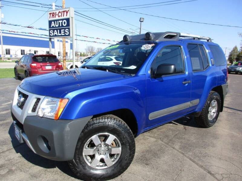 2012 Nissan Xterra for sale at TRI CITY AUTO SALES LLC in Menasha WI