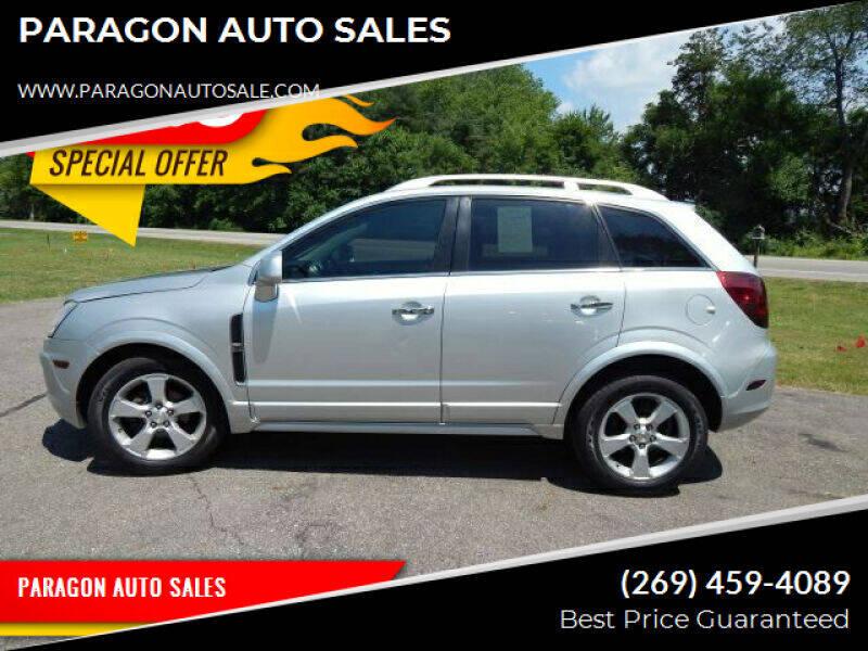 2013 Chevrolet Captiva Sport for sale at PARAGON AUTO SALES in Portage MI