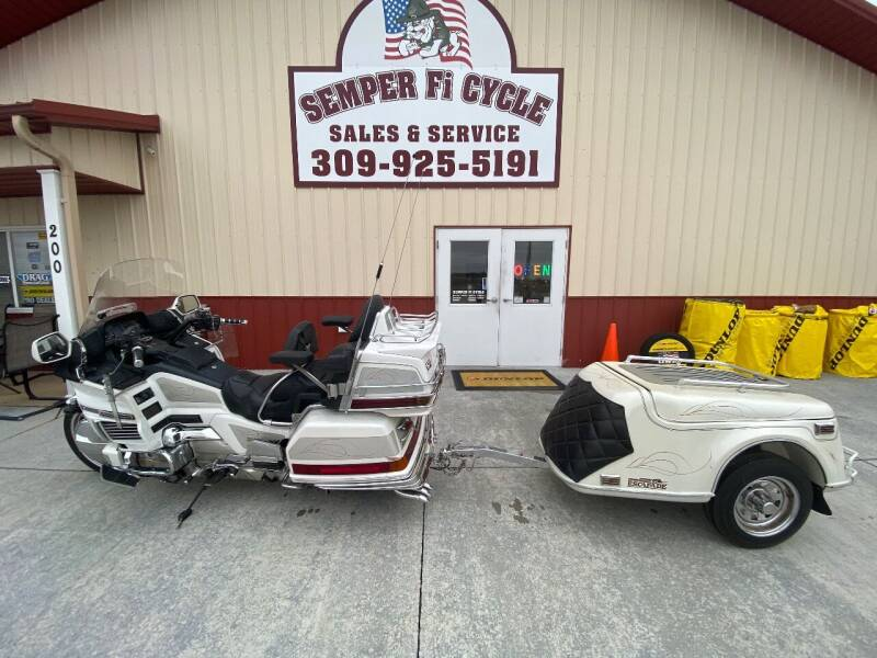 1997 Honda Goldwing for sale at SEMPER FI CYCLE in Tremont IL