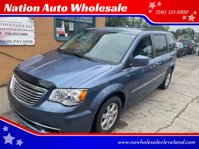 2012 Chrysler Town and Country for sale at Nation Auto Wholesale in Cleveland OH