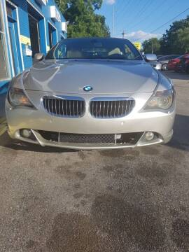 2006 BMW 6 Series for sale at Drive Auto Sales & Service, LLC. in North Charleston SC