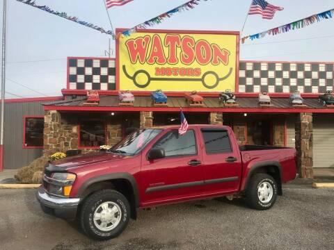 2004 Chevrolet Colorado for sale at Watson Motors in Poteau OK