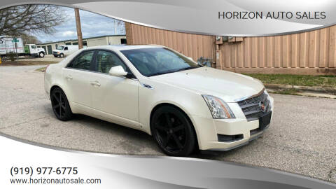 2009 Cadillac CTS for sale at Horizon Auto Sales in Raleigh NC